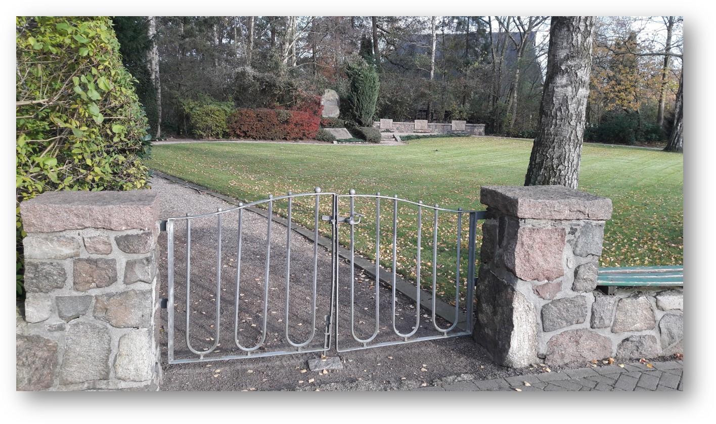 Eingang Dorfpark Schülp